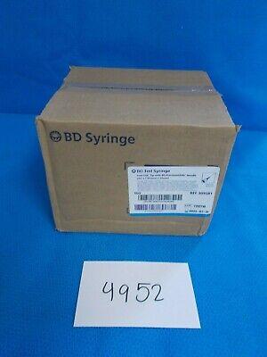 Case Of 100 Bd 3ml Syringe Luer Lok 309581 Exp 2022-07-31