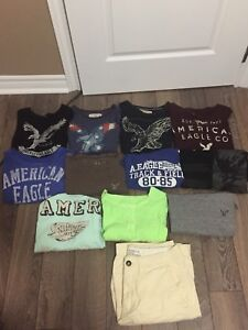 Men's Small American Eagle Shirts!!