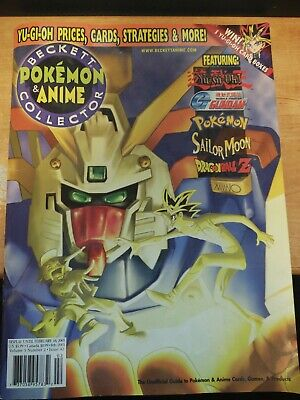 Beckett Pokemon & Anime Collector Guide March 2003 Vol 5 #3 Issue 45! New Poster