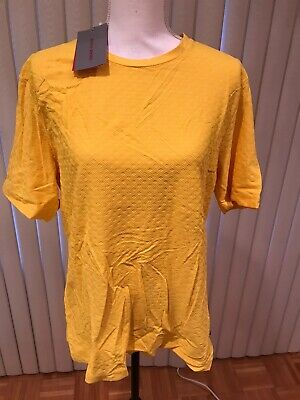 Mens' Versace Classic T-Shirt,Yellow XXXL AUTHENTIC