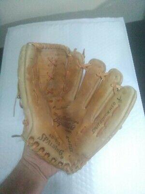 Spalding 42-915 Mel Stottlemyre New York NY Yankees Baseball Glove RHT 1960s