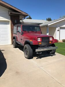 Sold PPU- 1993 Jeep YJ - needs work