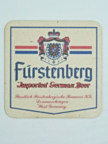Vintage Furstenberg German Beer Coaster West Germany  Lot of 12 New