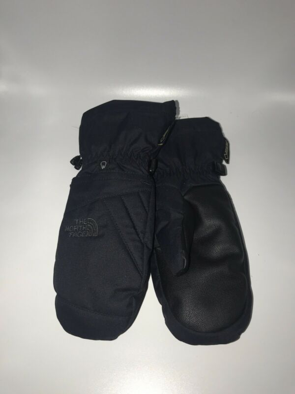 THE NORTH FACE  BLACK GLOVES MITTENS KIDS YOUTH Small