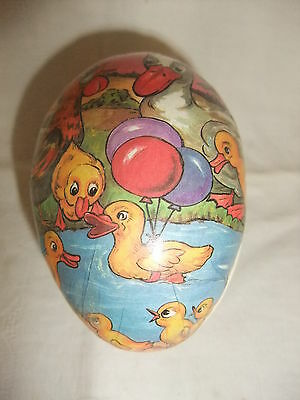 Original DDR Kult Osterei Pappei Ostern Candy Container Candycontainer 9 cm