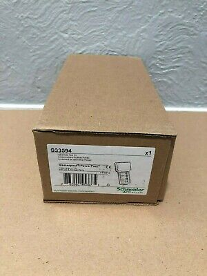 New Square D S33594 Micrologic Circuit Breaker Hand Held Test Kit New In Box