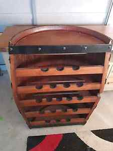 Wine Barrel Wine Rack Shellharbour Shellharbour Area Preview