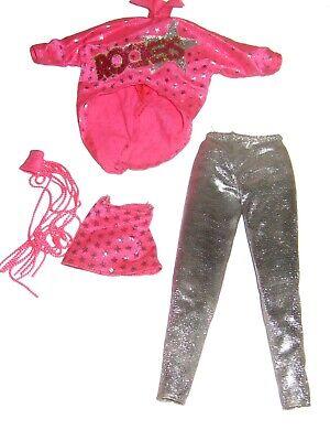 #3273 BARBIE CLOTHES: 1987 BARBIE ROCKERS OUTFIT #3055