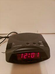 Westclox Digital Alarm Clock Radio (Model No. 80181)
