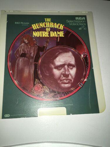 Vintage THE HUNCHBACK OF NOTRE DAME, RKO Pictures Video Disc - $5.99