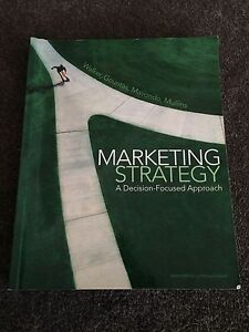 Marketing Strategy - A Decision-Focused Approach. Walker, Gountas Southbank Melbourne City Preview