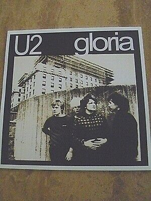 "U2 NEW ZEALAND 'GLORIA'   12"" X 12"" READY TO FRAME PRINT"