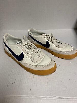 New Nike Killshot 2 Leather Men's Tennis Shoe Hyper Blue Gum Yellow...