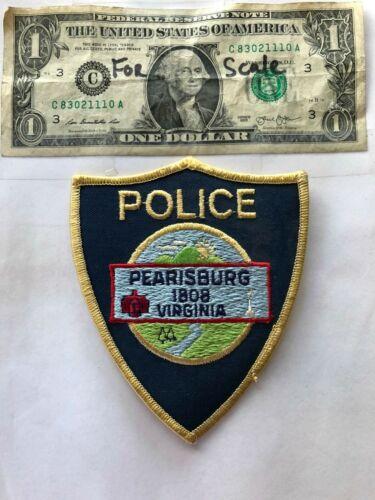 Very Rare Pearisburg Virginia Police patch un-sewn great condition