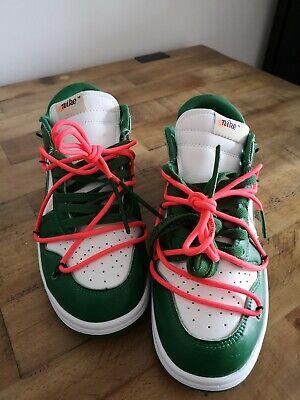 Off White Nike Dunk Low Pine Green UK 9