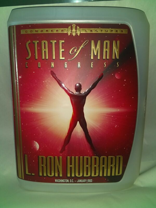 State Of Man Congress Congress Lectures L. Ron Hubbard SCIENTOLOGY Unused