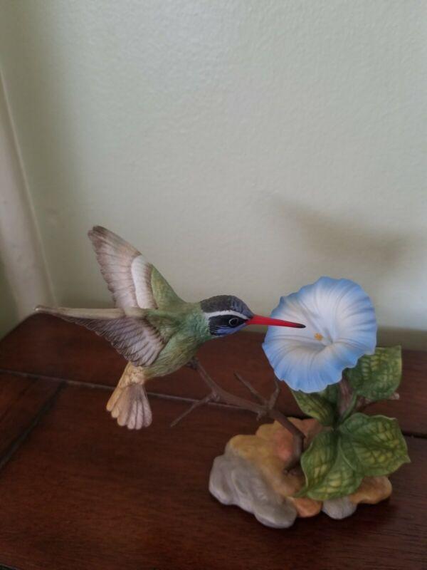 SONGBIRD MARURI USA porcelain hummingbird figurine