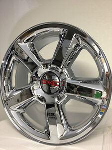 20-inch-chrome-Chevrolet-LTZ-OE-wheels-GMC-Sierra-Yukon-Denali-1500 ...