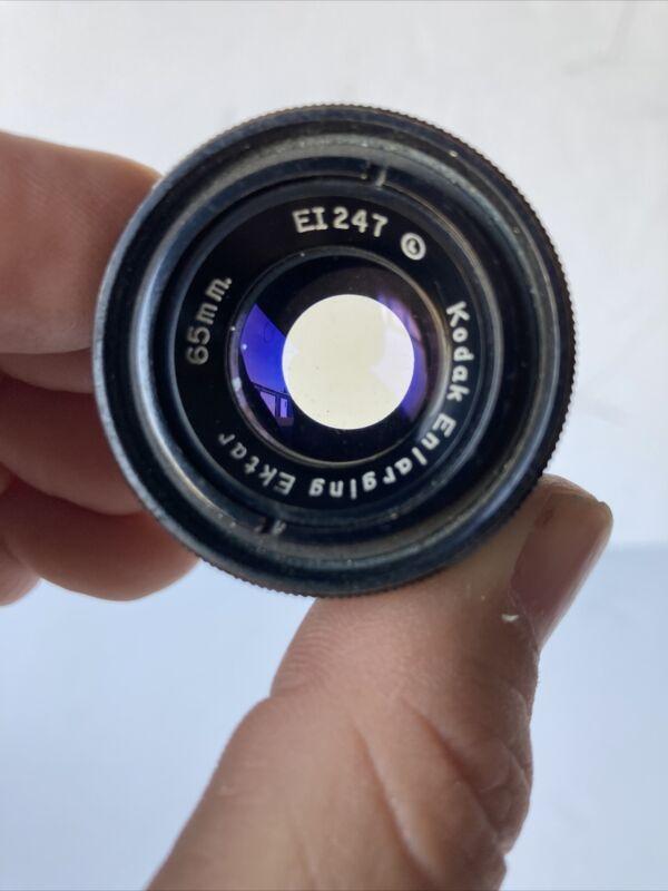 Rare Kodak Ektar 65mm Enlarging Lens