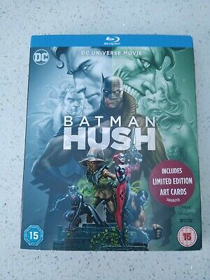 Batman Hush on Blu Ray includes Limited Edition Art Cards  New & Sealed RARE