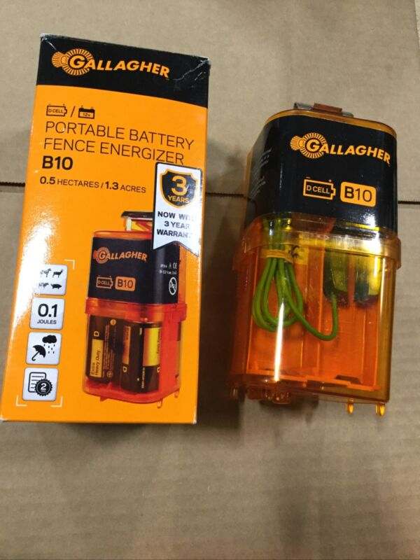 Gallagher Portable Battery Fence Energizer B10
