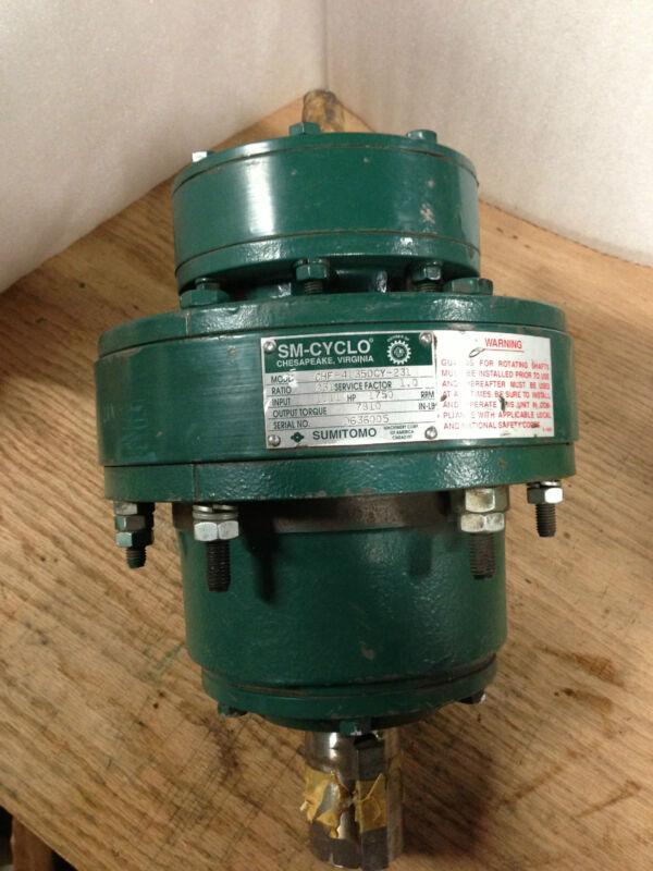 Sm-Cyclo CHF-4135DCY-231 231:1 inline speed reducer - 60 day warranty
