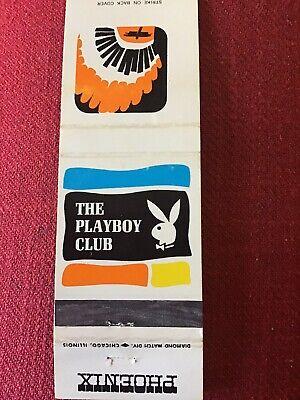 Vintage Playboy Club Matchbooks Phoenix 1961 1960s Vintage Advertising