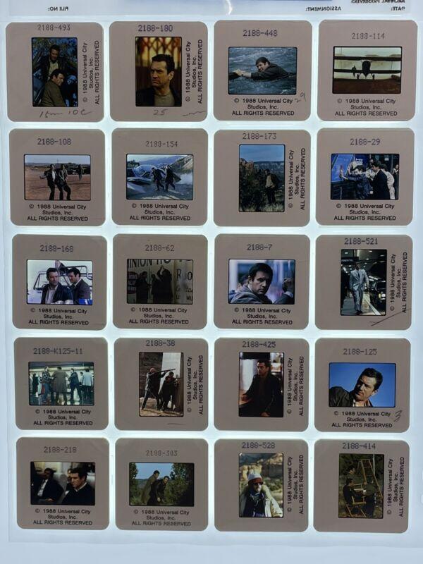 20 Midnight Run Movie 35mm Slides Press Kit Publicity Promo Vtg 1988 Lot #2