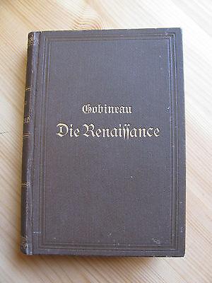um 1900 Die Renaissance. Historische Szenen von Gobinau