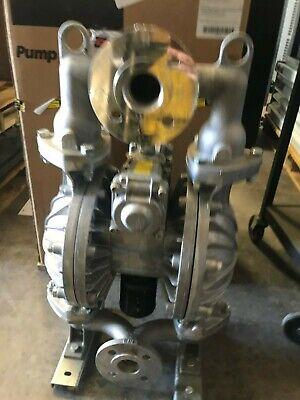 1-12 Aluminum Air Double Diaphragm Pump 115 Gpm 180f 1362