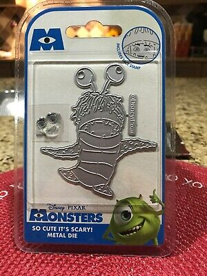Monsters Inc Boo Cute (DISNEY MONSTERS INC. BOO DIE-SO CUTE ITS SCARY-Craft world Metal Cutting)