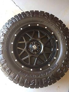 Crazy deal! Set of 5 nitto tires and xd rims