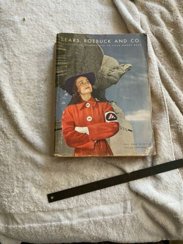 1942 1943 Sears Roebuck and Co. Catalog  Fall Winter Chicago