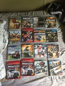 22 ps3 games $5 each