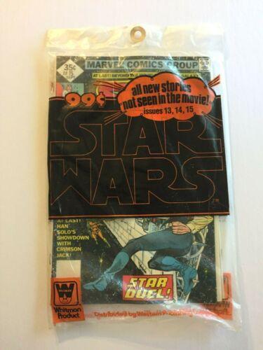 STAR WARS 1978 3 SET COMIC BOOKS MARVEL WHITMAN SEALED  #13 #14 #15