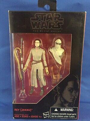 Hasbro Star Wars Disney 3.75 Black Series REY (JAKKU) Walmart Force Awakens New