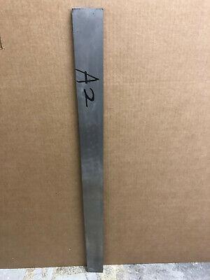A2 Tool Steel Flat Bar .390 X 2-12 X 36 A2 Precision Ground Flat Knife Steel