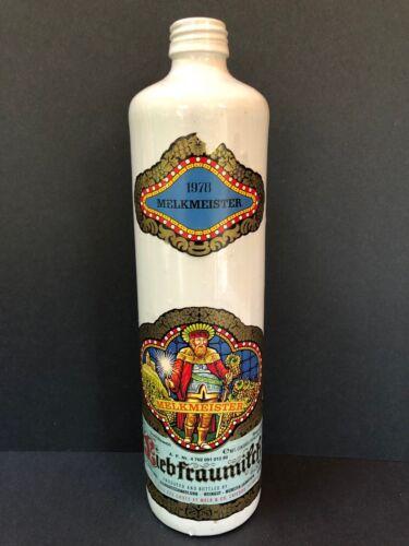 VINTAGE 1978 MELKMEISTER LIEBFRAUMILCH German WINE DECANTER, BOTTLE Empty RHINE