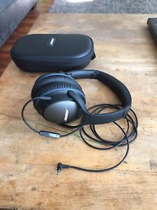 Bose QC 25 noise cancelling headphones