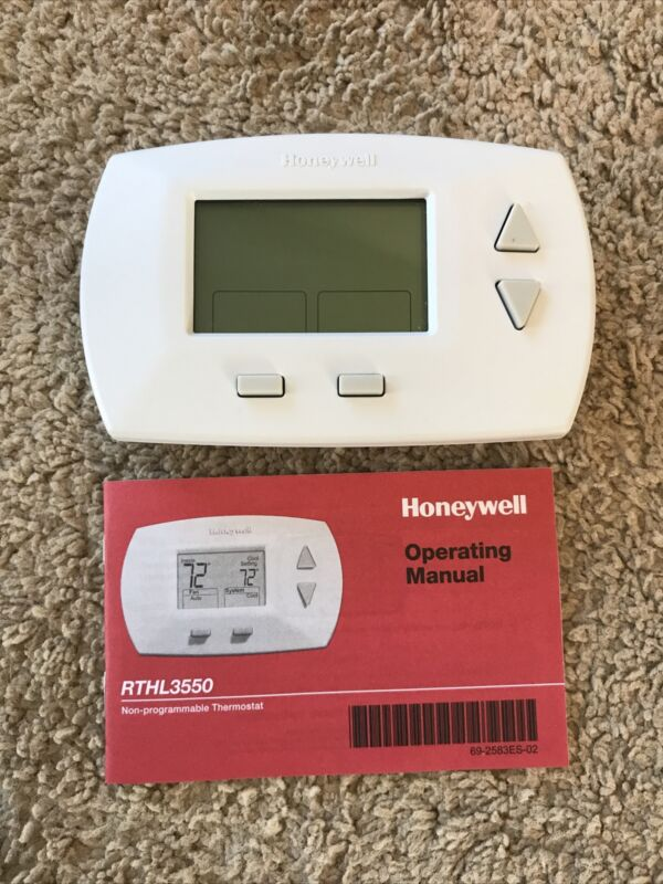 Honeywell RTHL3550 Non-Programmable Thermostat Digital RTHL3550D1006 4 (1351)