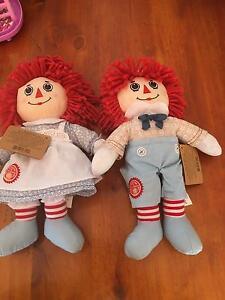 Raggedy Ann and Andy Dolls Toys Kyneton Macedon Ranges Preview