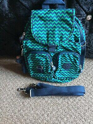 kipling  firefly  N backpack/across the shoulder bag In Green Chevron