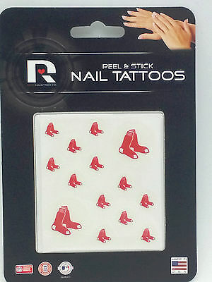 Boston Red Sox Peel & Stick Nail Tattoos - Red Sox Tattoos