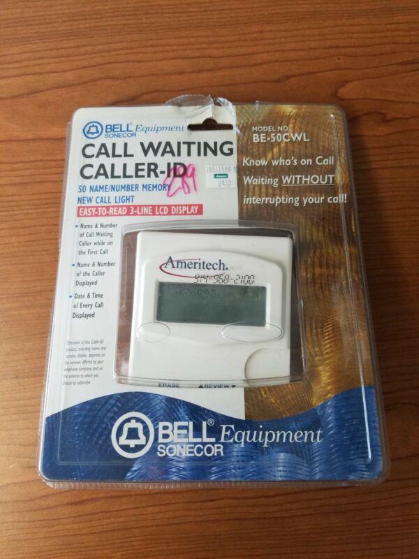 Vintage Call Waiting Caller ID Box Bell Equipment Sonecor  Model: BE-50CWL