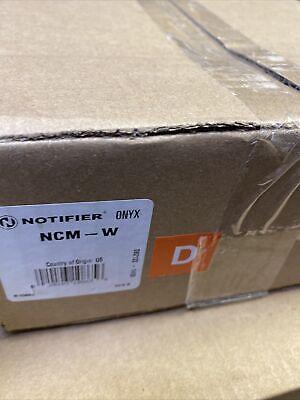 Notifier Onyx Ncm-w Network Communications Wire Module Brand New In Box