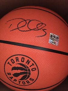 Raptors Demarre Carroll signed ball!! Great for Game 1