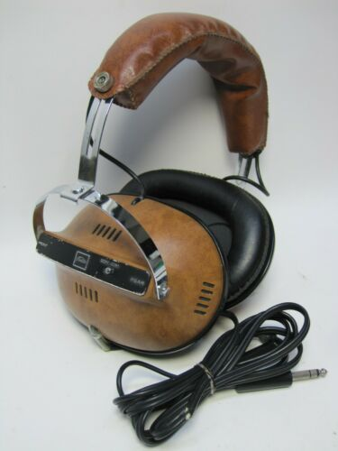 Vintage Toshiba 4 Channel Stereo Headphones Quadrophonic HR-40 ((VERY RARE))