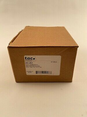 T.a.c Schneider Hc-201 Duct Humidistat Two Position 15-95 47-0922