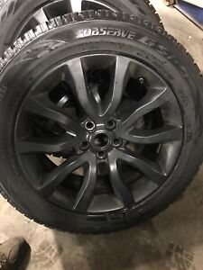 Tire and rims for Range Rover