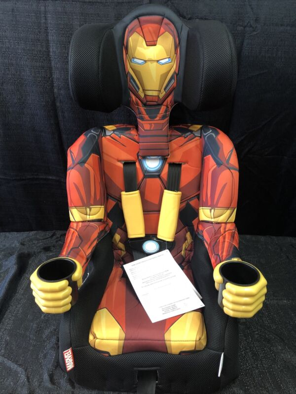 Kids Embrace Marvel Avengers Iron Man Combination Harness Kids Booster Car Seat